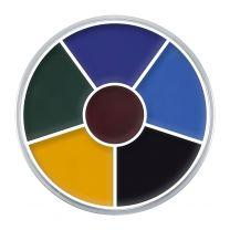Kryolan Cream Color Circle 6 (Black Eye 2)