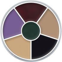 Kryolan Cream Color Circle 6 (Black Eye)
