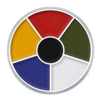 Kryolan 6 colour wheel  Rainbow