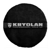 Kryolan Powder Puff Black 10cm