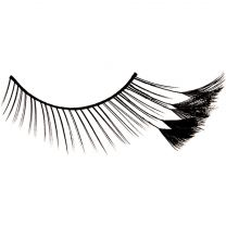 Kryolan Eyelashes Stargirl Feathered tip