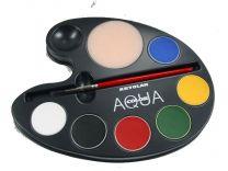 Kryolan Aquacolor Palette primary 6
