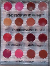 Kryolan Lip Mini Palette 16 colours