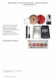 Welcome to Kryolan 2020 - Basic Beauty Starter Kit 1