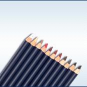 Makeup - eye pencils and lip pencils