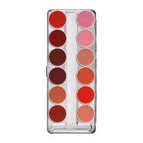 Kryolan Lipstick Palette 12