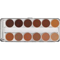 Kryolan Ultra Foundation 12 Palette