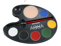 Kryolan Aquacolor Palette primary 6