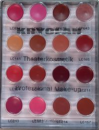 Kryolan Lip Mini Palette 16 colours