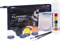 Flaming Skull Kit