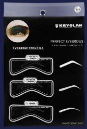 Kryolan Eyebrow Stencils 3