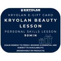 1:1 90 Min Personal Skills Makeup Lesson Voucher