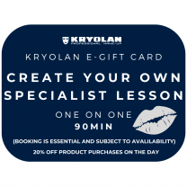 90 Minute Create your own SPECIALIST Lesson Gift Voucher