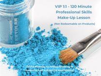 VIP 1:1 120 Minute Professional Skills Makeup Lesson Gift Voucher