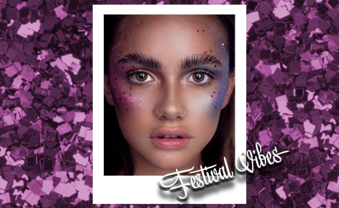 FESTIVAL EDIT: How to make your makeup and glitter last all day!