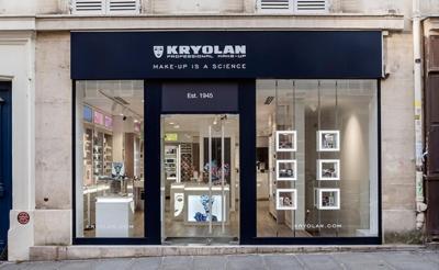 Kryolan City opens in Paris
